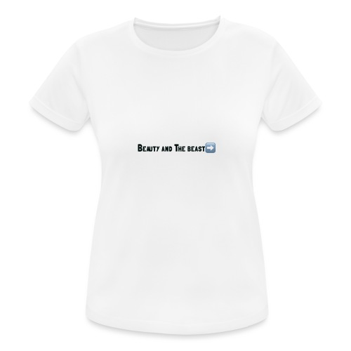 Beauty and the beast - Vrouwen T-shirt ademend actief