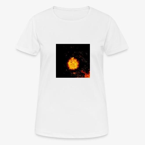 FIRE BEAST - Vrouwen T-shirt ademend actief