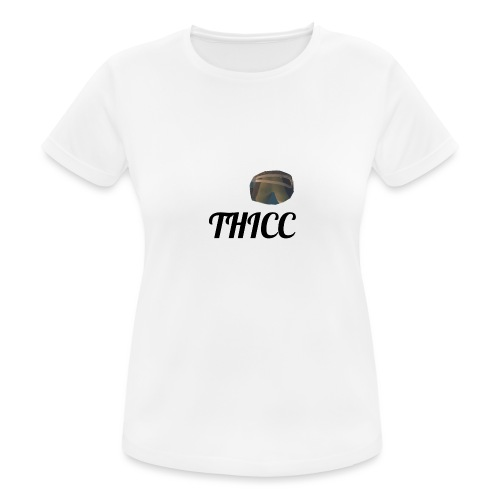 THICC Merch - Women's Breathable T-Shirt