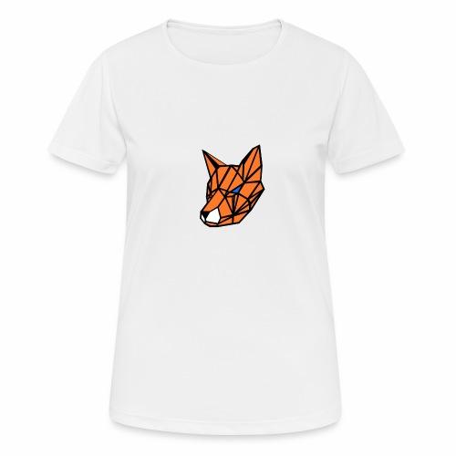 renard geometrique - T-shirt respirant Femme