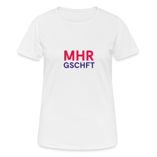 MHR GSCHFT (rot/blau) - Frauen T-Shirt atmungsaktiv