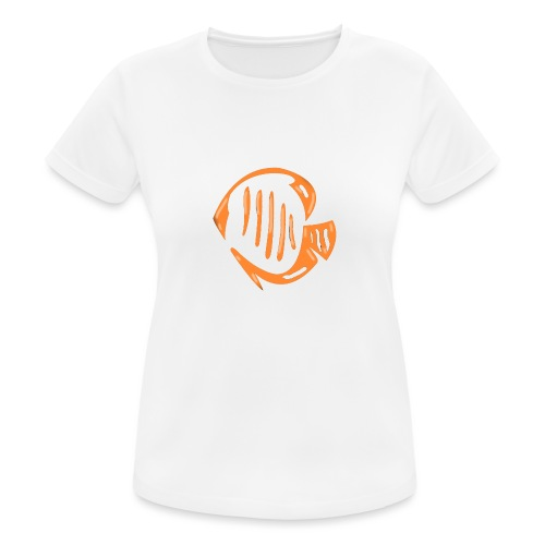 Aquarium Adventures Logo - Women's Breathable T-Shirt