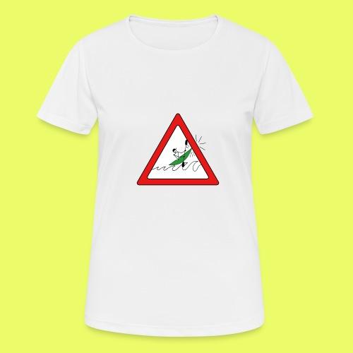 Kajak Unfall im Dreieck - Frauen T-Shirt atmungsaktiv