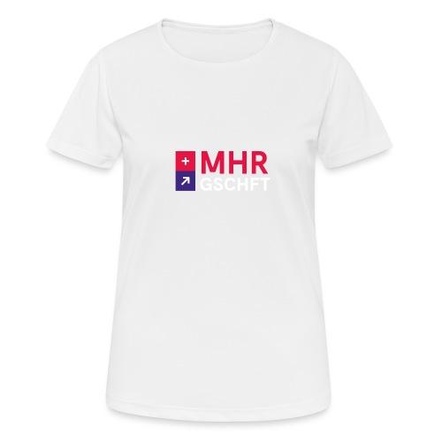 MHR GSCHFT mit Logo - Frauen T-Shirt atmungsaktiv