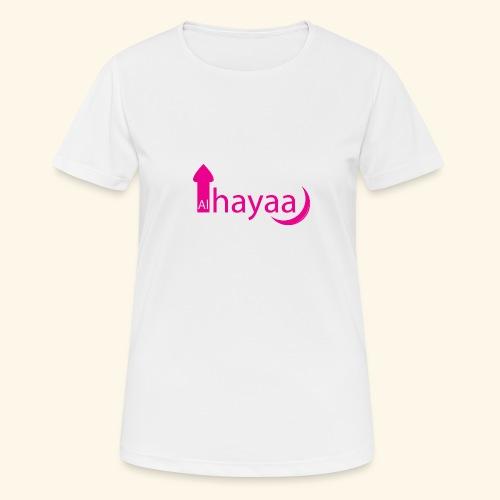 Al Hayaa - T-shirt respirant Femme