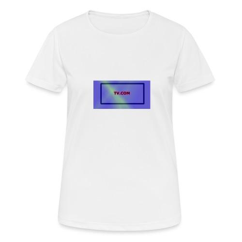 TV.COM - naisten tekninen t-paita