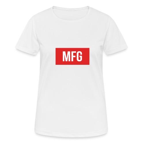 MFG on Youtube Logo - Women's Breathable T-Shirt
