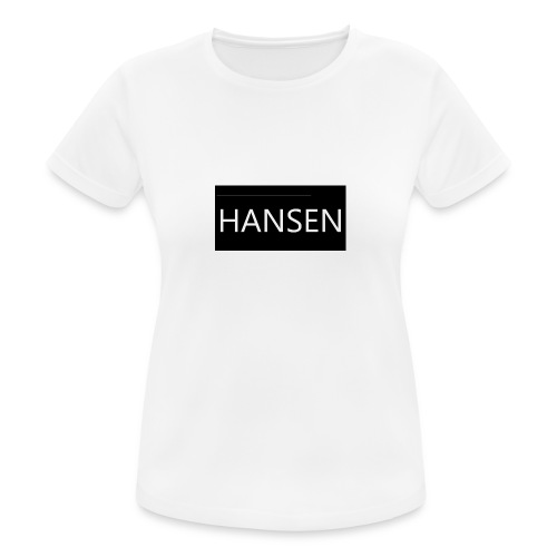 HANSENLOGO - Dame T-shirt svedtransporterende
