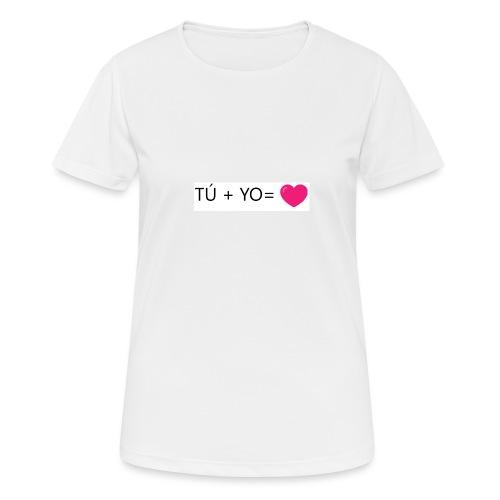 amor - Camiseta mujer transpirable