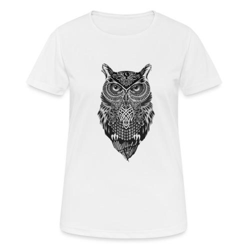 uil_groot - Vrouwen T-shirt ademend actief
