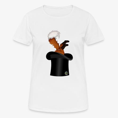 Mikkel Rev - Pustende T-skjorte for kvinner