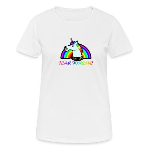 Logo officiel de la team forcing - T-shirt respirant Femme