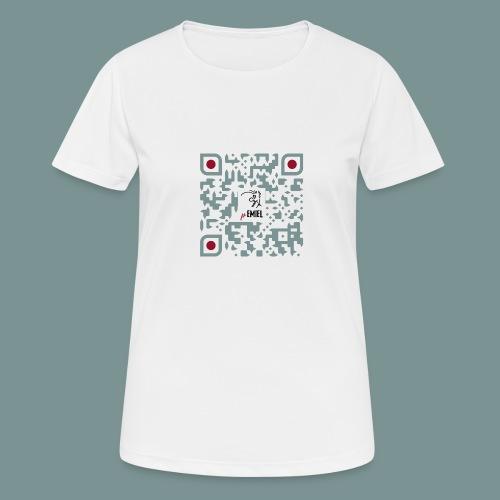pEMIEL QR - Vrouwen T-shirt ademend actief