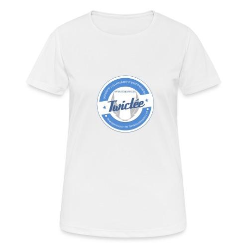 logo twictee - T-shirt respirant Femme
