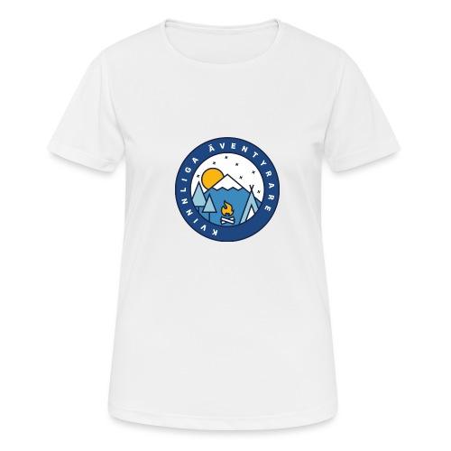 Kvinnliga Äventyrare - Andningsaktiv T-shirt dam