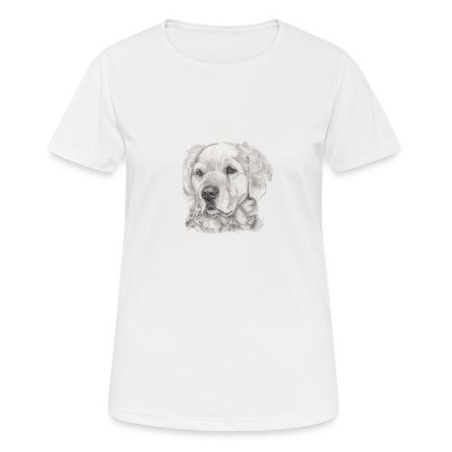 golden retriever - Dame T-shirt svedtransporterende