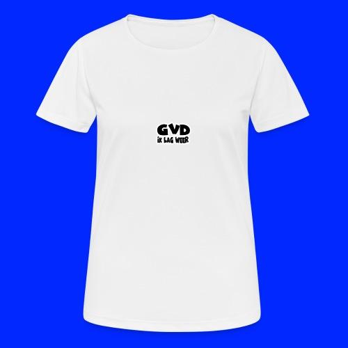 GVD ik lag weer - Vrouwen T-shirt ademend actief