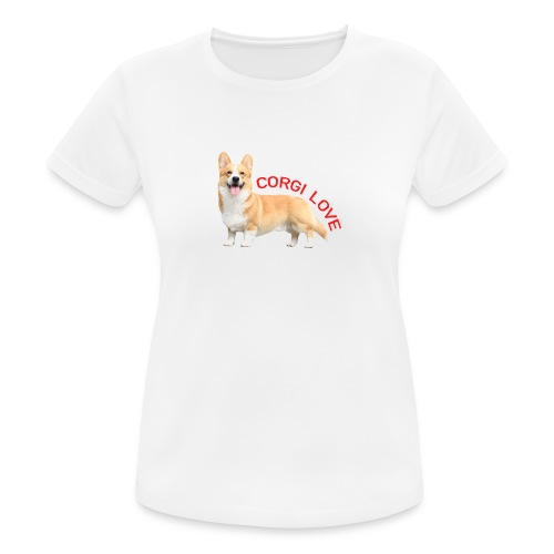 CorgiLove - Women's Breathable T-Shirt
