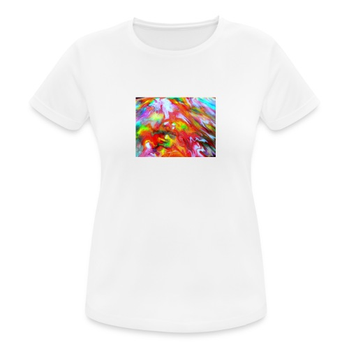 abstract 1 - Women's Breathable T-Shirt