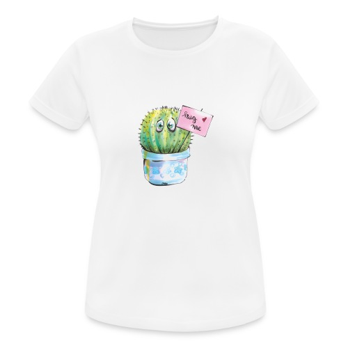 hug me - Frauen T-Shirt atmungsaktiv