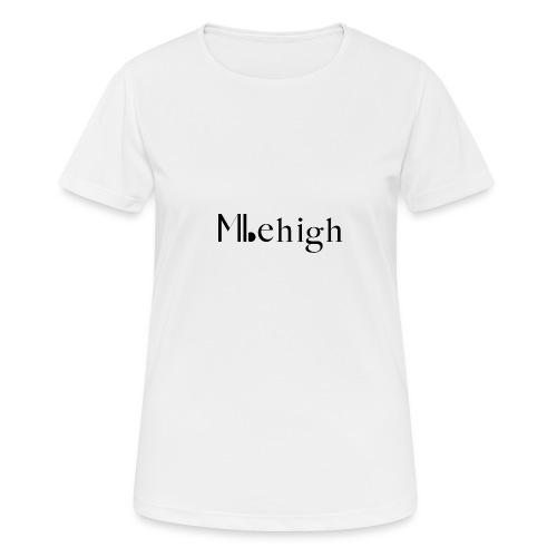 Milehigh Rags Logo Black - Pustende T-skjorte for kvinner