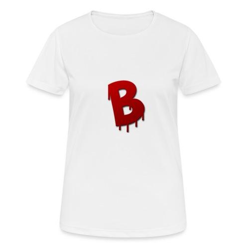 Rood Bartjuh - Vrouwen T-shirt ademend actief