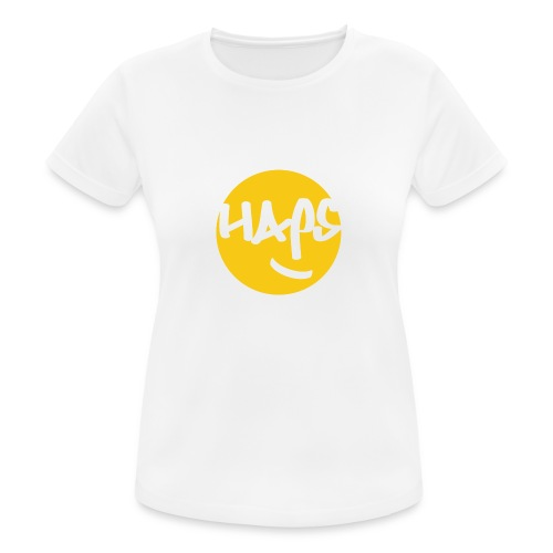 HAPS Yellow Logo - Women's Breathable T-Shirt