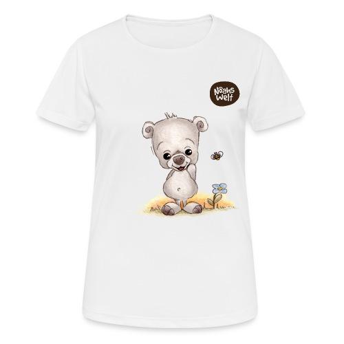 Noah der kleine Bär - Frauen T-Shirt atmungsaktiv