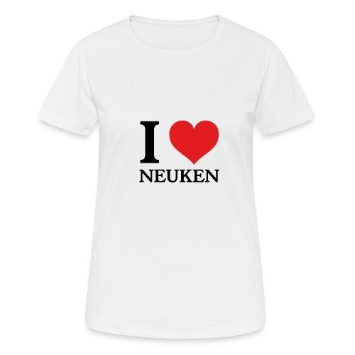 iloveneuken - Vrouwen T-shirt ademend actief