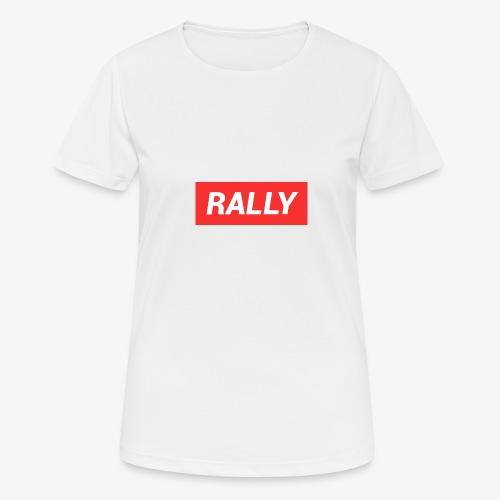 Rally classic red - Andningsaktiv T-shirt dam