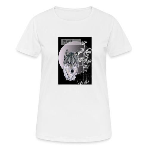 Re wild britain tee shirt - Women's Breathable T-Shirt