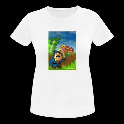 SuperMario: Not so shy guy - Vrouwen T-shirt ademend actief