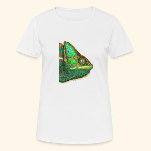 Chamäleon - Frauen T-Shirt atmungsaktiv