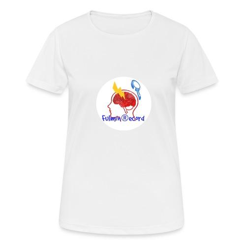 Fulmin Record - Maglietta da donna traspirante