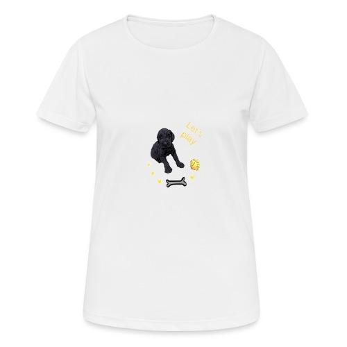 Giant Schnauzer puppy - Women's Breathable T-Shirt
