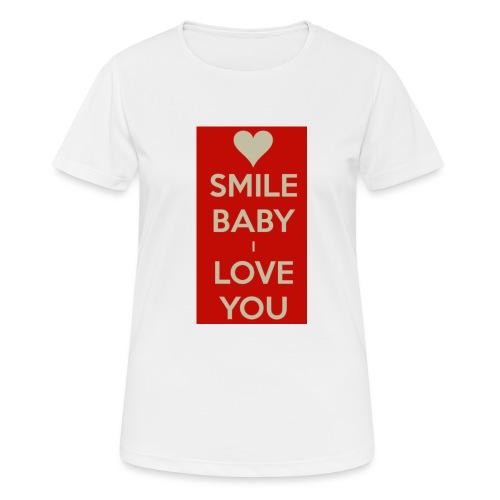 13EA371C 7A76 4027 BF26 429EE3809D0D - Andningsaktiv T-shirt dam