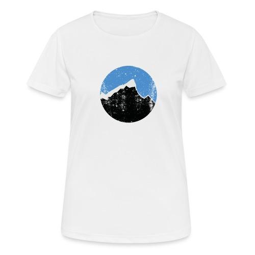Årgangs - Pustende T-skjorte for kvinner