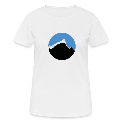FjellTid - Pustende T-skjorte for kvinner