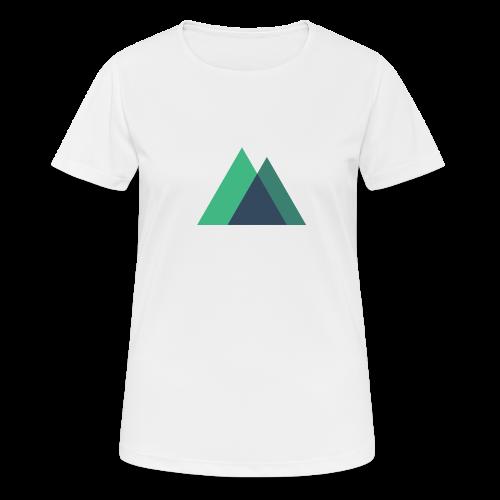Mountain Logo - Women's Breathable T-Shirt
