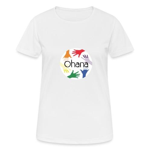 Ohana heißt Familie - Frauen T-Shirt atmungsaktiv