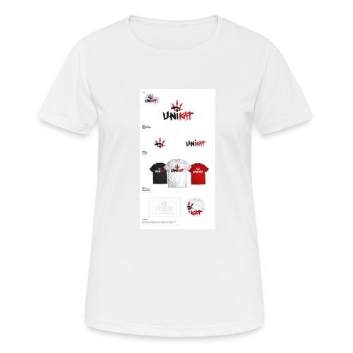 unikat_1 - Koszulka damska oddychająca
