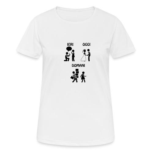 4 - Maglietta da donna traspirante