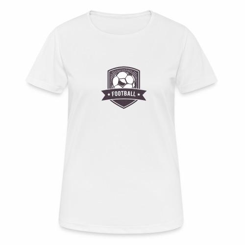 football - Frauen T-Shirt atmungsaktiv