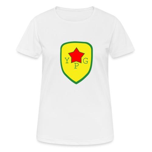 Mens Green YPG Support Tee - naisten tekninen t-paita