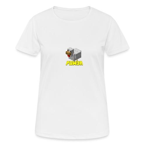 POw3r sportivo - Maglietta da donna traspirante
