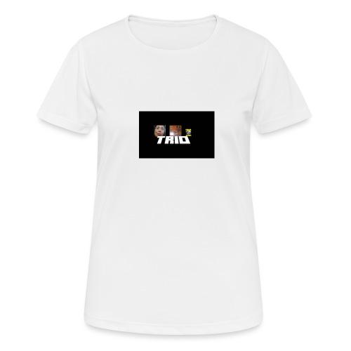 TRIO - Maglietta da donna traspirante