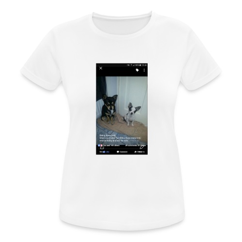 Dogs - Women's Breathable T-Shirt