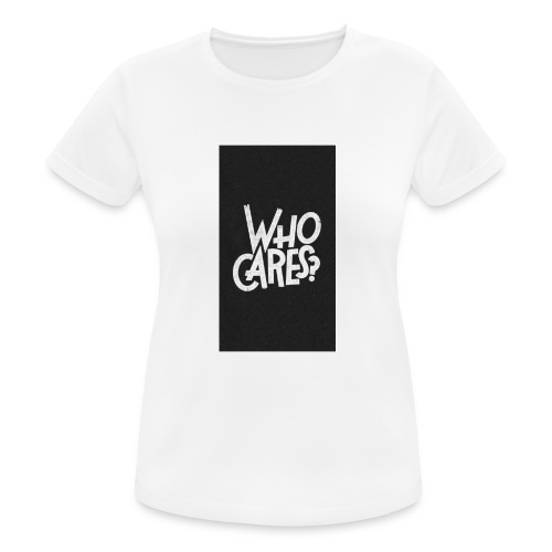 WHO CARES ? - T-shirt respirant Femme