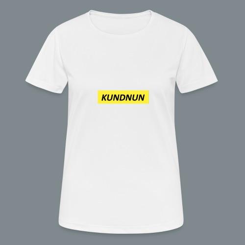 Kundnun official - Vrouwen T-shirt ademend actief