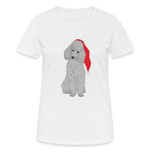 Poodle toy G - christmas - Dame T-shirt svedtransporterende